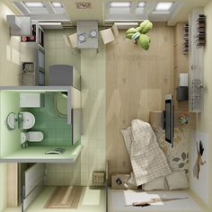 """33 Sq Metres... Small, but well designed - A lot of design ideas for you """"Tiny"""" to be found here -  -  To connect with us, and our community of people from Australia and around the world, learning how to live large in small places, visit us at www.Facebook.com/TinyHousesAustralia"""