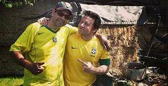 Jamie Oliver faz feijoada com seu amigo brasileiro