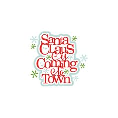 Santa Claus title scrapbook clip art christmas cut outs for cricut... ($0.50) ❤ liked on Polyvore featuring home, home decor, holiday decorations, christmas, cricut, christmas holiday decor, christmas holiday decorations and christmas home decor