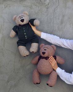 Knitting Bear, Teddy Bear, Toys, Animals, Activity Toys, Animales, Animaux, Clearance Toys, Teddy Bears