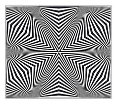 op art hexagonal diamonds