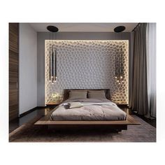 • F L O A T I N G • Almost time to drift off to the 'land of nod'.. And what a better way to do it..! . . . #bedroom #bedroominspo #bed #interiors #interiordecor #interiordesign #homedesign #homesandinteriors #beautifulhomes #modernhome #stylish #minimal #lighting #loveid