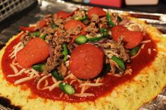 Cauliflower Pizza  #HappyChomp