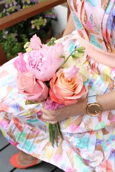 Hello July, Sunny Days, Baby Blue, Crafty, Bobs, Flowers, Cottage, Watch, Colors