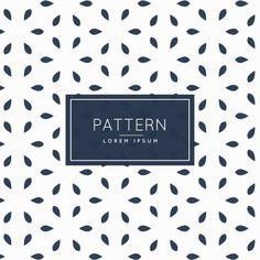 Stylish minimal pattern Free Vector