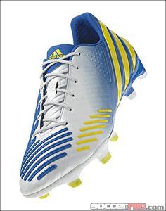 adidas Predator LZ TRX FG Soccer Cleats - White with Prime Blue...$197.99