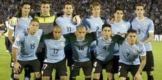 Seleção uruguaia. 13/05/2014.