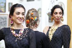Pendientes y Collares de flores preservadas Crochet Necklace, Brooch, Instagram, Fashion, Orange Blossom, Waterfalls, Flamingo, Ear Jewelry, Necklaces