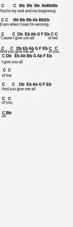 All of Me Flute Sheet Music Part 2