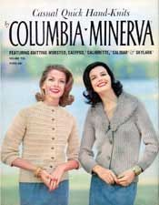 Casual Quick Hand-Knits, Columbia-Minerva Volume 735 | Knitting Patterns