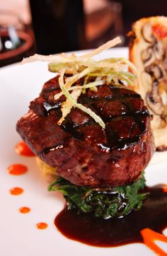 Meaty Main Course: Filet Mignon with Balsamic Glaze