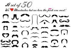Moustache Free Illustrator Vector Pack