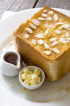 Japanese Toast?! wow!