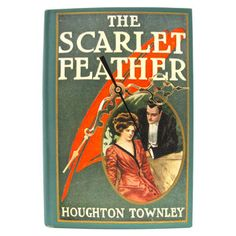 The Scarlet Feather, $99, now featured on Fab.