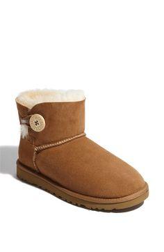 UGG® Australia 'Mini Bailey Button' Boot (Women) | Nordstrom