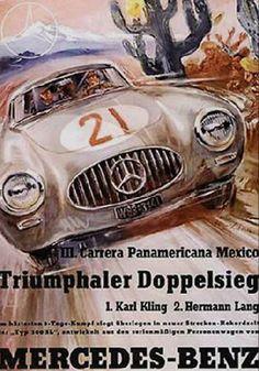 Panamericana 1952. Just love vintage posters.