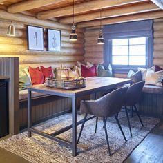 Log Homes, Corner Desk, Cottage, Cabin, House, Furniture, Ideas, Design, Home Decor