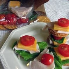 """Homemade Lunch Combination 