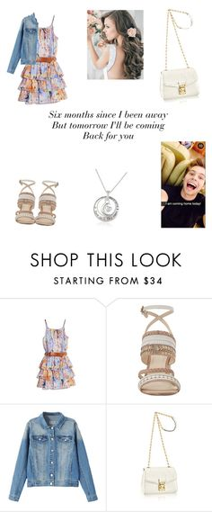"""""""After tour date with Luke"""" by mackraines ❤ liked on Polyvore featuring GUESS by Marciano and Nine West"""