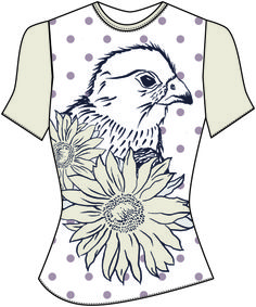 Cad, Design, Idea, Fashion, Illustrator, Photoshop, Repeat, Pattern, Floral, Blue, Green, Pink, Placement, Beige, Textiles, Fabric, Idea, Inspiration, Bird, Polkadot