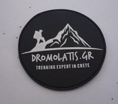 Join www.dromolatis.gr, choose your trekking trip in Crete and get your own PVC-velcro patch