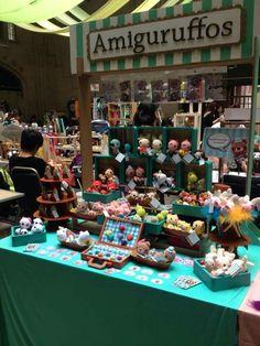 Bazar, amigurumi, expo, amigurufos