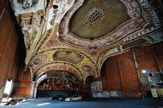 O Abandoned Theaters Julia Solis Stages Of Decay Facebook