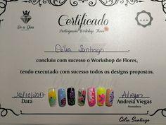 Diário Feminino: Workshop de Flores em Paint Gel