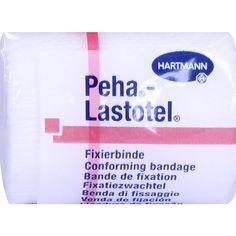 PEHA-LASTOTEL Fixierbinde 4 cmx4 m:   Packungsinhalt: 1 St Binden PZN: 10069300 Hersteller: PAUL HARTMANN AG Preis: 0,79 EUR inkl. 19 %…