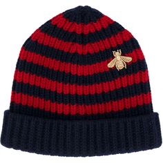 da826aa614f10 Buy Gucci Gucci Red   Blue Striped Wool Hat now at italist and save up to  EXPRESS international shipping!