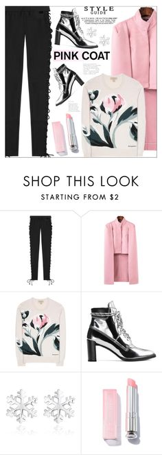 """""""~Hey, Girl: Pretty Pink Coats~"""" by amethyst0818 ❤ liked on Polyvore featuring Puma, Burberry and Stuart Weitzman"""