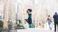 Take pictures at Bryant Park! New York City Lifestyle Fashion or Engagement Shoot Inspiration