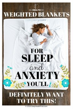 Recent research has shown that the type of blanket you use at night can affect your quality of sleep. In fact, heavier blankets have shown time and again to provide more deep, peaceful sleep.