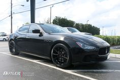 Maserati Ghibli with TSW Clypse Wheels exclusively from Butler Tires and Wheels in Atlanta, GA - Image Number 11469 Maserati Models, Tyre Brands, Maserati Ghibli, Car Wallpapers, Exotic Cars, Butler, Luxury Cars, Atlanta, Wheels