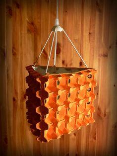 EKO-LAMPA [XXXIV] - ECO CEILING LAMP - UPCYKLING - UPCYCLING