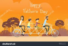 Find Father Day Holiday Family Ride Tandem stock images in HD and millions of other royalty-free stock photos, illustrations and vectors in the Shutterstock collection. Thousands of new, high-quality pictures added every day. Tandem Bicycle, Family Holiday, Happy Fathers Day, Royalty Free Stock Photos, Illustration, Pictures, Bicycles, Image, Cartoons
