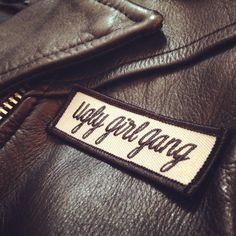 Ugly Girl Gang Patch by tuesdaybassen on Etsy
