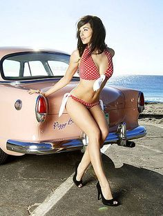 Girls and Hot Rods and Rat Rods! http://thepinuppodcast.com features pinup models and pin up photographers.