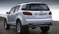 Chevrolet Trailblazer 1920 X 1200 Wallpaper