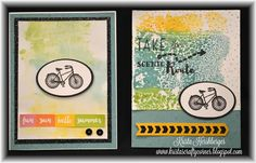 "Krista's Crafty Corner: June Stamp of the Month Blog Hop - ""The Long Way Home"""