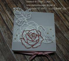 HandWerk aus Papier: Winterrose