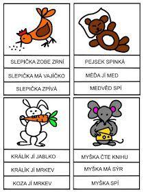 Pro Šíšu: Čtení s porozuměním Math Worksheets, Montessori, Alphabet, Kindergarten, Homeschool, Language, Classroom, Teaching, Activities
