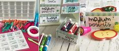 Get your desk organized with a Teacher Tool Box!
