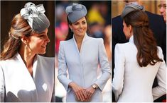 #KateMiddleton Hat #Fashion During Royal Tour 2014