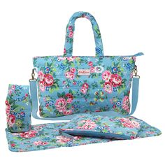 Large Spray Flowers Quilted Nappy Bag  | Cath Kidston |