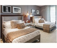 Cama estofada para quarto de casal ou solteiro, modelo Genebra Quartos Etc. Podendo customizar medidas e tecido ou couro.