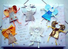 Weihnachten alt/basteln-Engel-als-Geschenkverpackung
