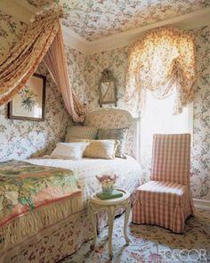 Shabby Chic Home Decor Shabby Chic Bedrooms, Shabby Chic Homes, Shabby Chic Decor, Cottage Bedrooms, Rustic Decor, Dream Rooms, Dream Bedroom, Pretty Bedroom, Bedroom Romantic