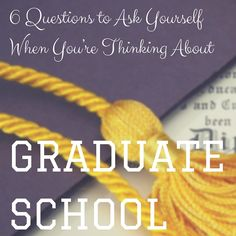 6 Questions to Ask Yourself When You're Thinking about Grad School for military spouses