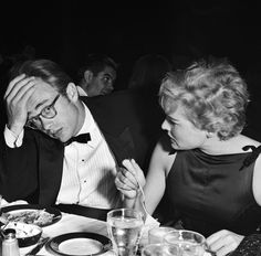LOS ANGELES - AUGUST 29: Movie star James Dean and Swiss born actress Ursula Andress attend the Thalian Ball on August 29 1955 at Ciro's nightclub in Los Angeles, California. Description from flickr.com. I searched for this on bing.com/images
